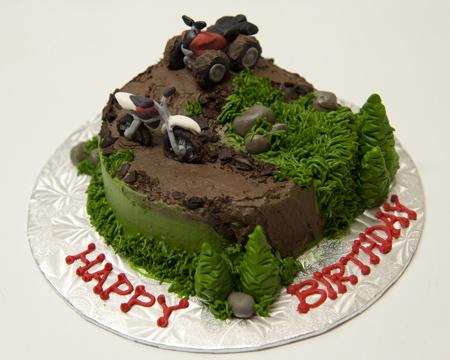 Atv Birthday Cake