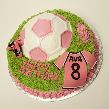 Ava 8th Soccer Cake 01a birthday cakes perth 1 on birthday cakes perth